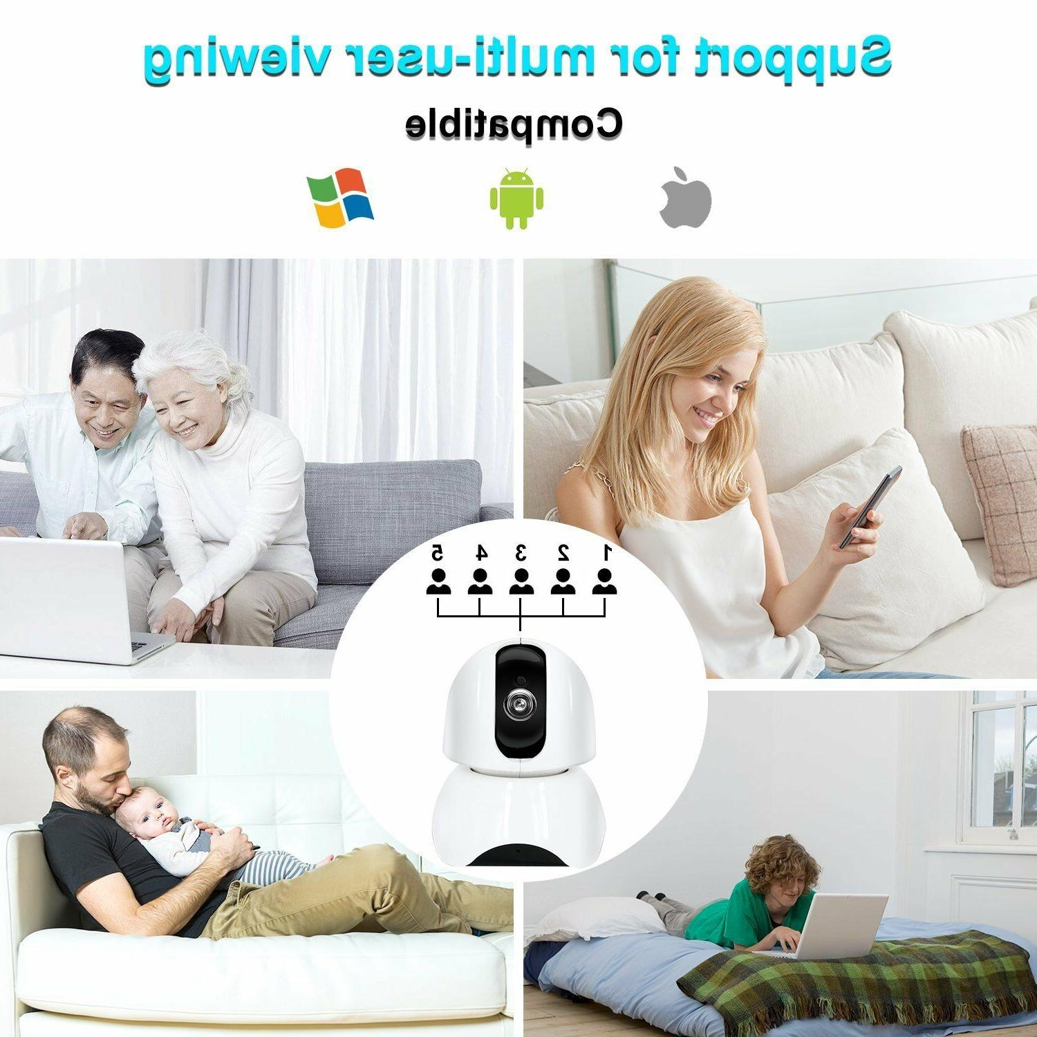 Smart IP Camera HD Remote WIFI For House