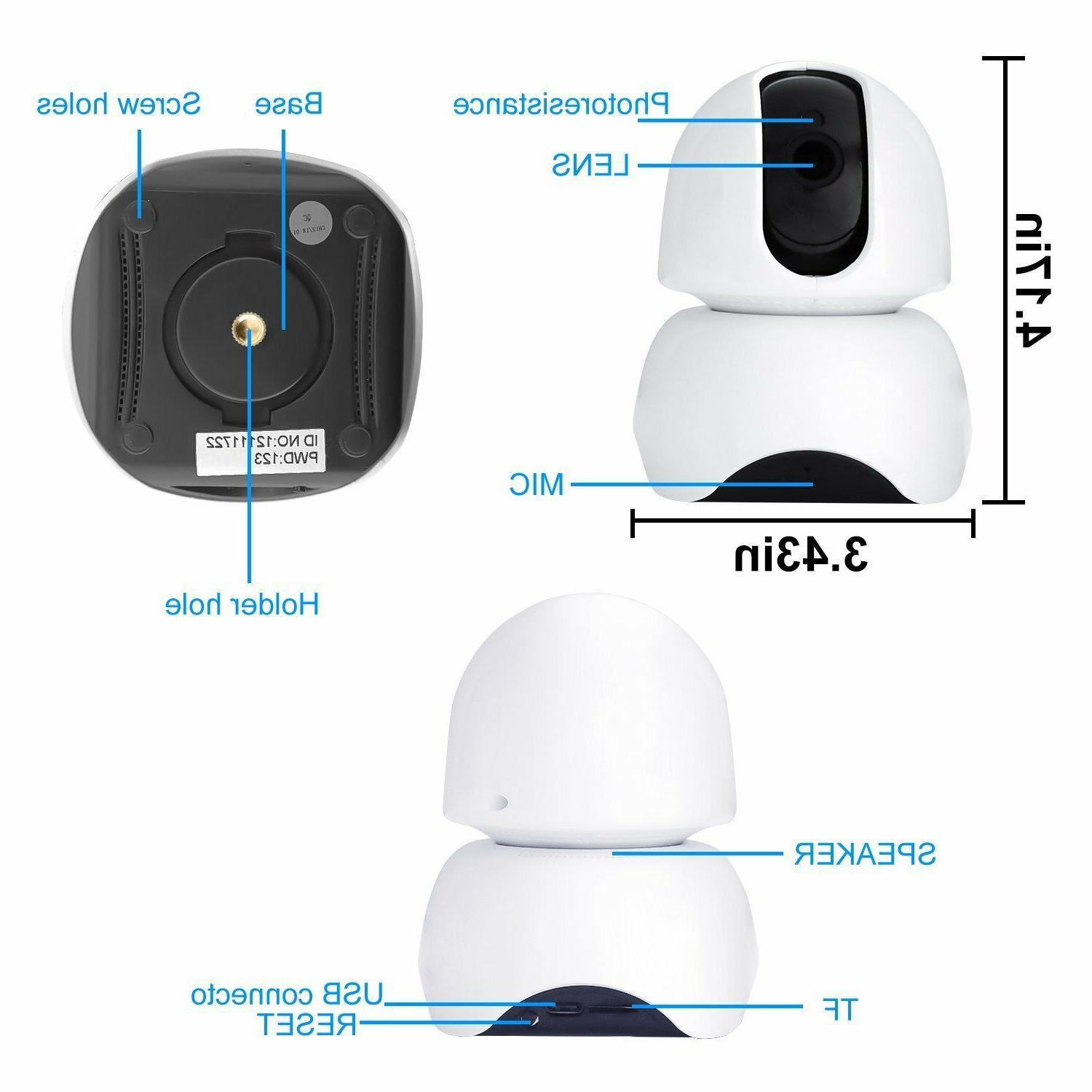 Smart Wireless Wifi Camera HD Remote Camera For