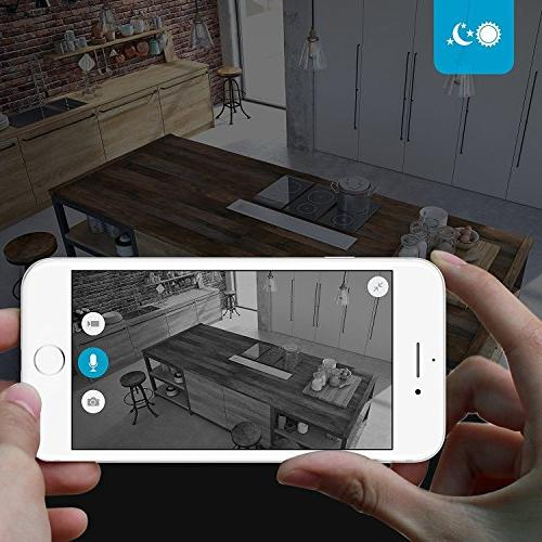 Zmodo True HD WiFi Wireless Wide Indoor Camera Service