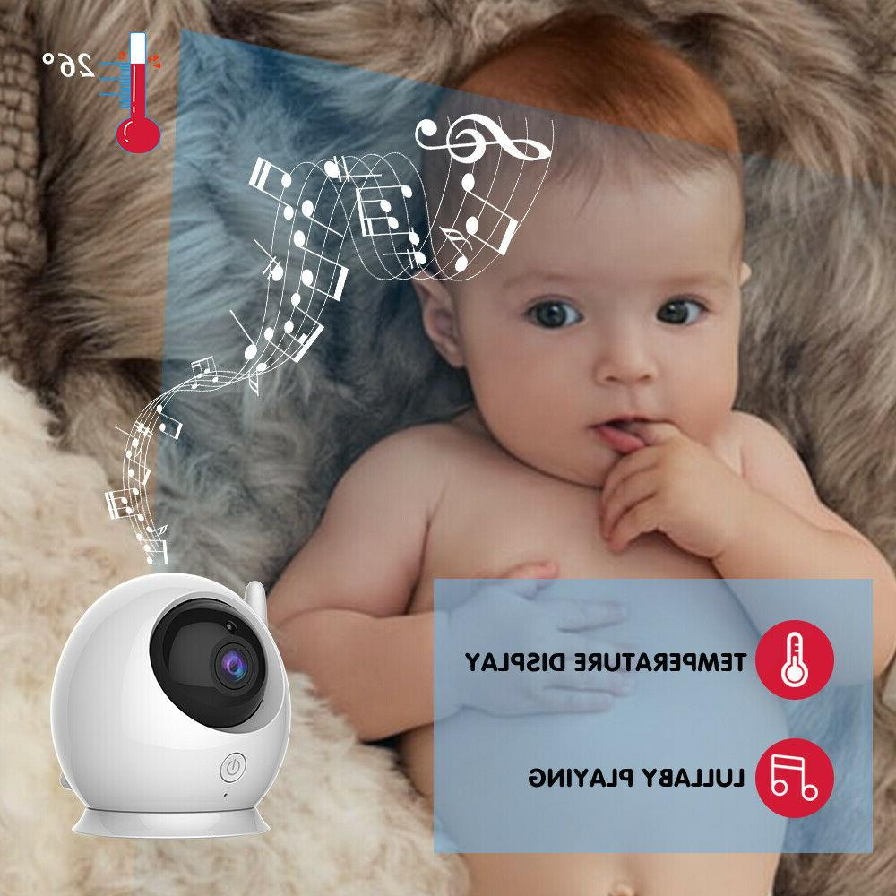 Baby Video with Two Cameras! Large Screen, Visio