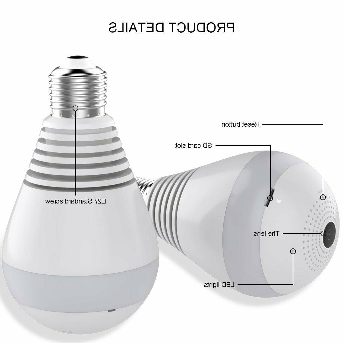 Bulb Wireless, Panoramic 2.0MP Vis