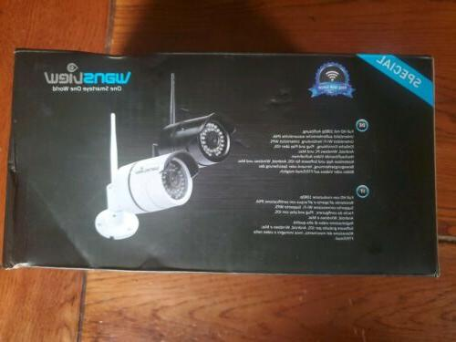 Wansview Bullet Security 1080P WiFi IP Home