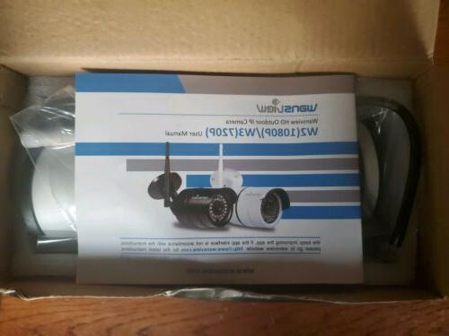 Wansview Bullet Security 1080P WiFi