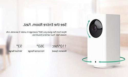 Wyze Pan/Tilt/Zoom Home Camera with Vision