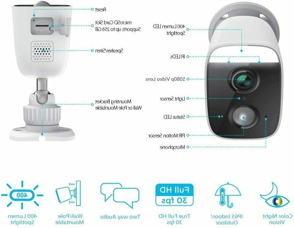D-Link WiFi Camera, DCS-8630LH-US