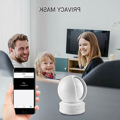 Dome 1080P HD Wireless Security With Work