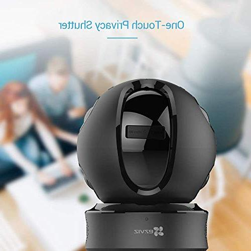 EZVIZ Pan/Tilt/Zoom Wireless IP Surveillance Night Auto Motion Tracking Baby Monitor Two Audio Cloud Service with Only