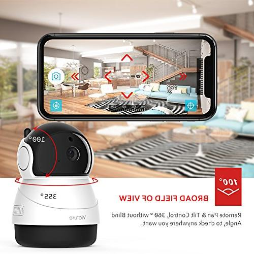 Victure IP Camera Security Camera Detection Vision Surveillance Audio for with iOS/Android