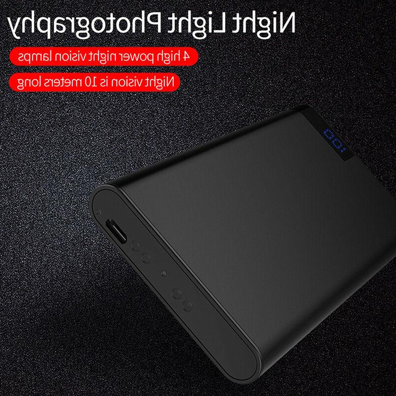 HD 1080P 4K WIFI Power Bank Night DVR Recorder