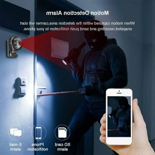 Hidden Security Night Vision Motion Detection