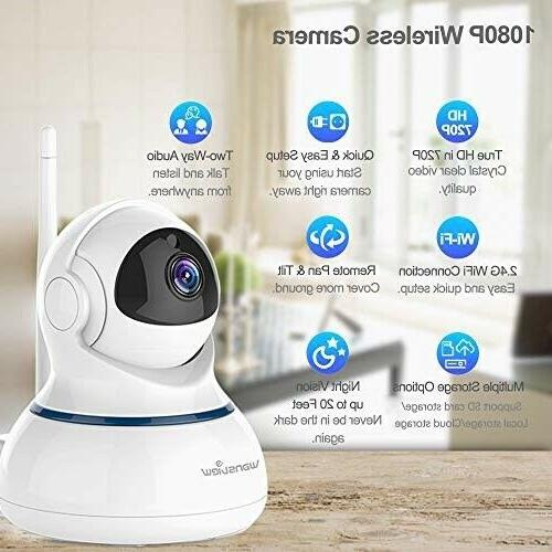 Home Security Camera,1080P HD Wansview WiFi for Pet