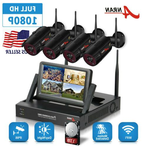 home security camera system 1080p hd 8ch