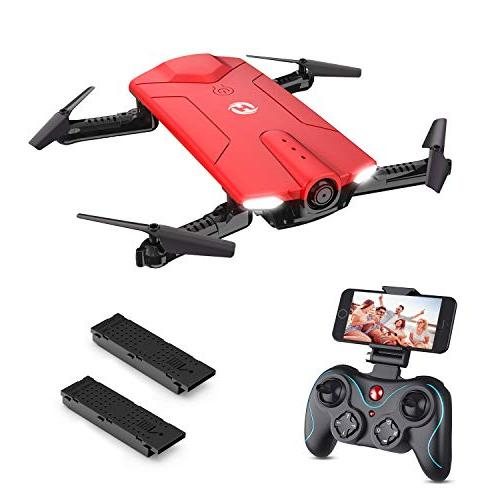 hs160 drone with camera rc quadcopter foldable