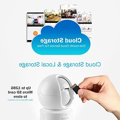 ANNKE IP Camera, Nova HD Pan/Tilt Home Security Work with Show/ Assistant and Cloud Service Available,