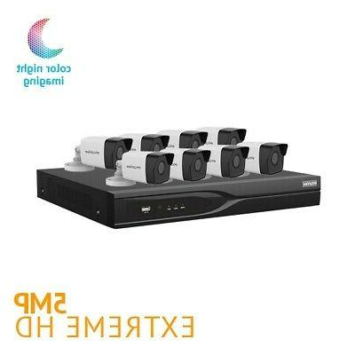 IP67 Weatherproof 8Channel HD Vision Security