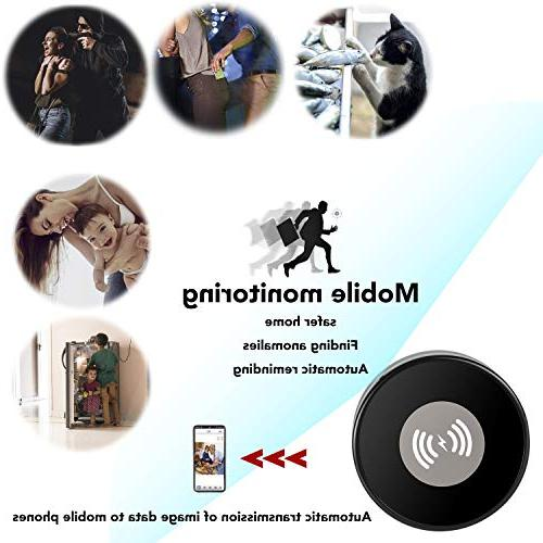 PANNOVO L-Y12 Wi-Fi Hidden Spy Camera Lens Qi Certified 5W Wireless Pad with x, Galaxy 9/S9/Note