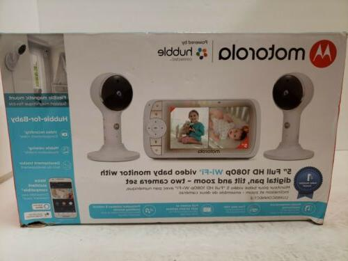 lux65 5 wifi baby monitor with 2
