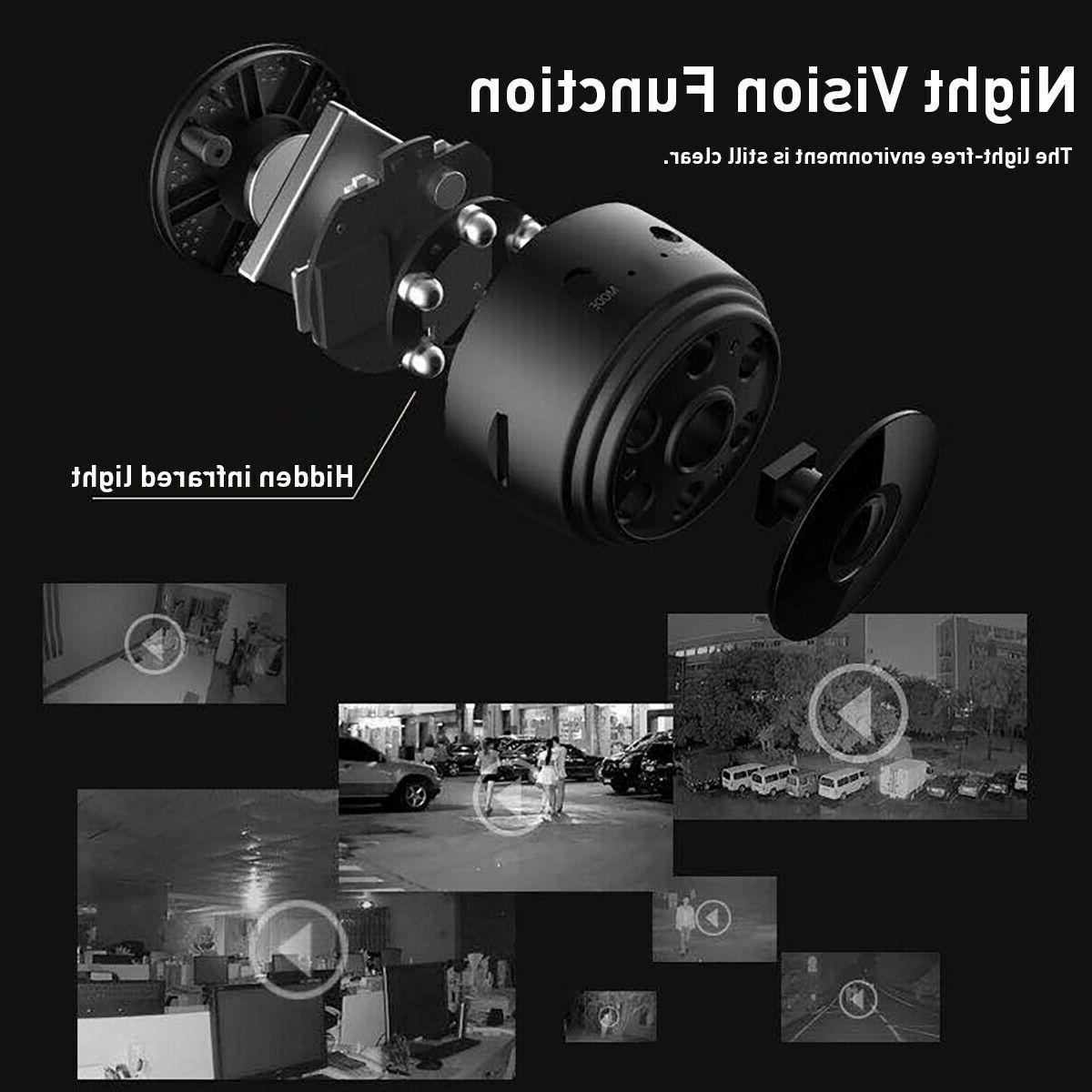 Mini Spy Camera Wireless IP Security DVR Night HD 1080P