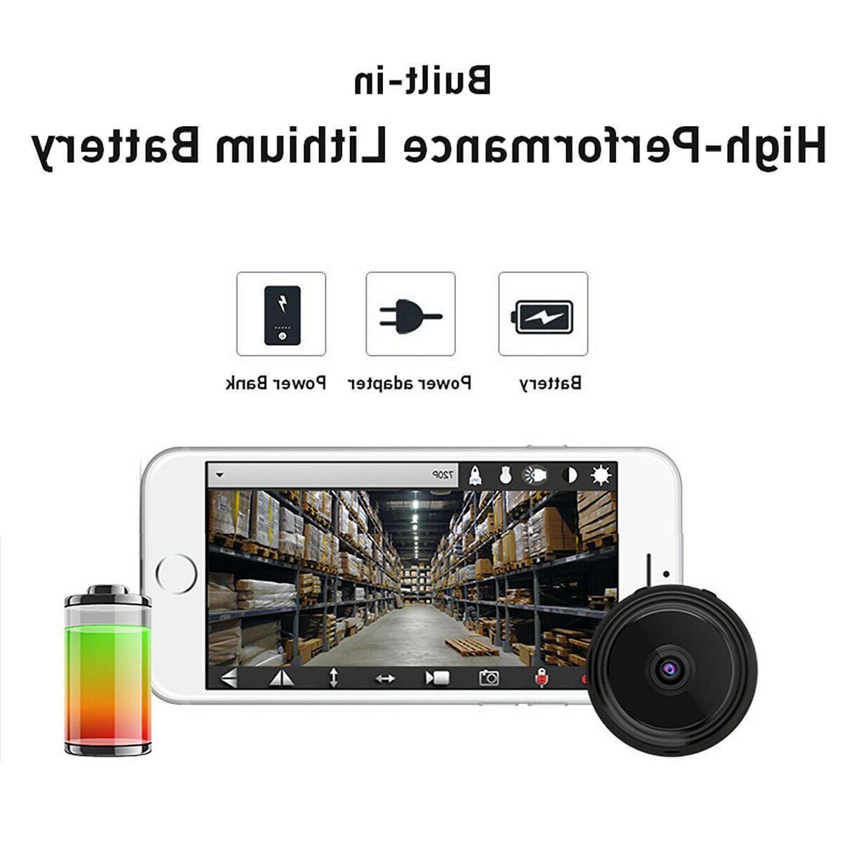 Mini Hidden Camera Wireless Wifi Security DVR Night Vision HD
