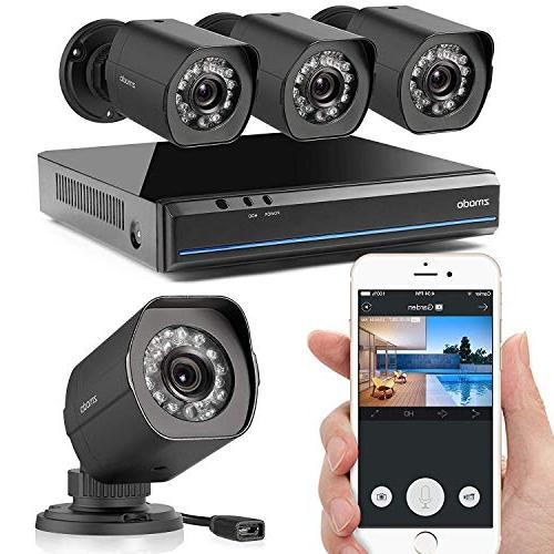 nvr weatherproof surveillance security system