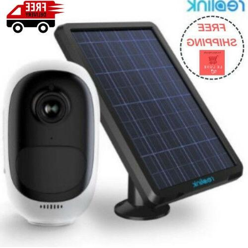 reolink argus pro with solar panel power