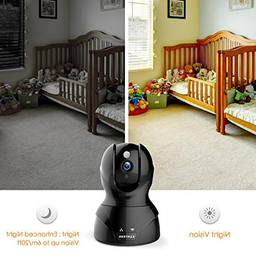 Security Camera 1080P Pet Wireless Indoor Home Camera Two-Way