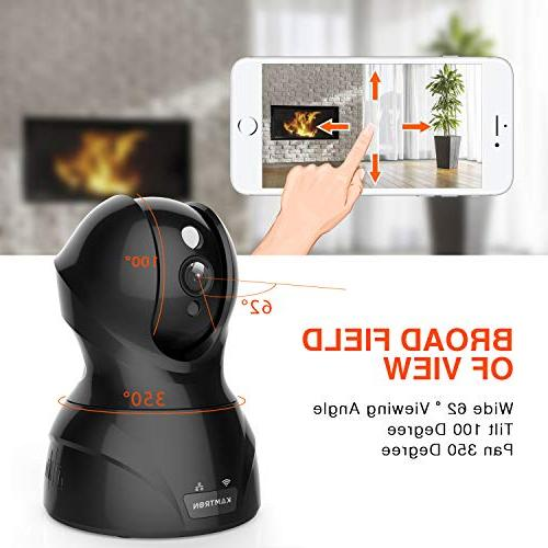 Security 1080P Wireless Indoor Pan/Tilt/Zoom Home Camera Camera with Motion - Storage
