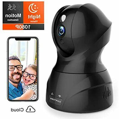 Security Pet KAMTRON Wireless Indoor Camera Camera with Motion Two-Way Audio, - Cloud