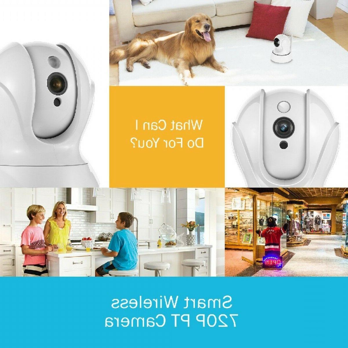 set of 2 720p home security wifi