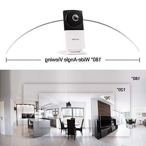 Zmodo Sight 180° Wide Angle 1080p HD Security IP Vision Audio - Available