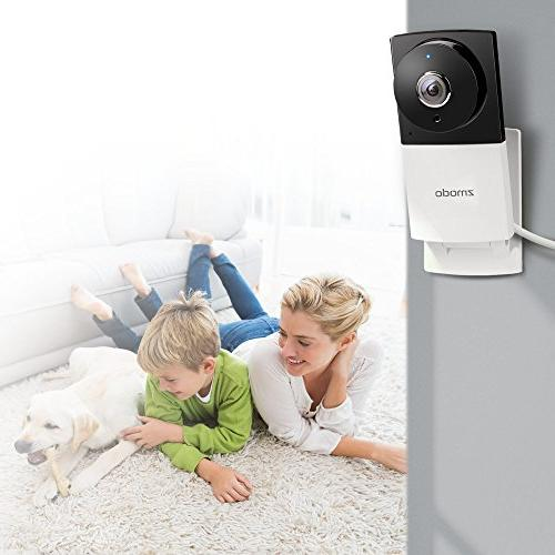 Zmodo Sight 180 C 180° Viewing 1080p Security IP Vision Two Audio - Cloud Available