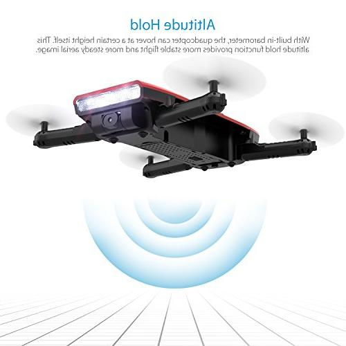 GoolRC Foldable Camera Live Channel 6 Axis Gravity Sensor Selfie RTF With