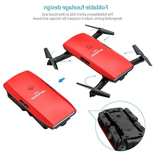 GoolRC T47 Foldable with Wifi Camera Live 2.4G 4 Channel Sensor Selfie Quadcopter