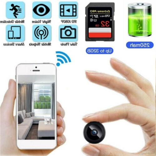 USA Wifi Security HD 1080P DVR Night Vision Remote