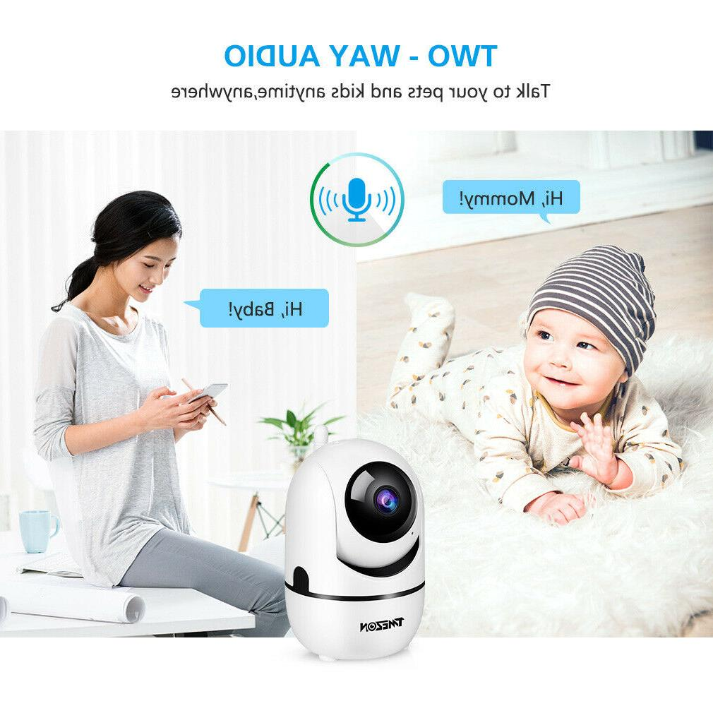 Wireless Indoor Home Monitor IR Vision
