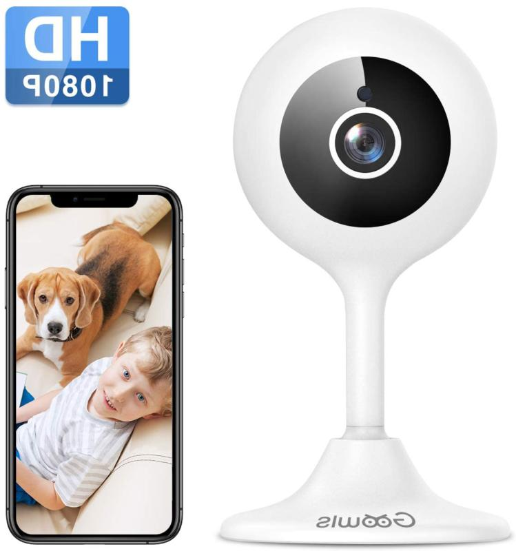wifi camera indoor goowls 1080p hd home