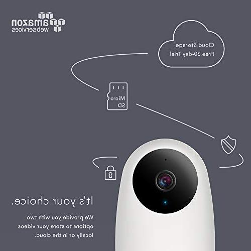 Nooie Baby Pet Monitor 720P with Motion Vision,