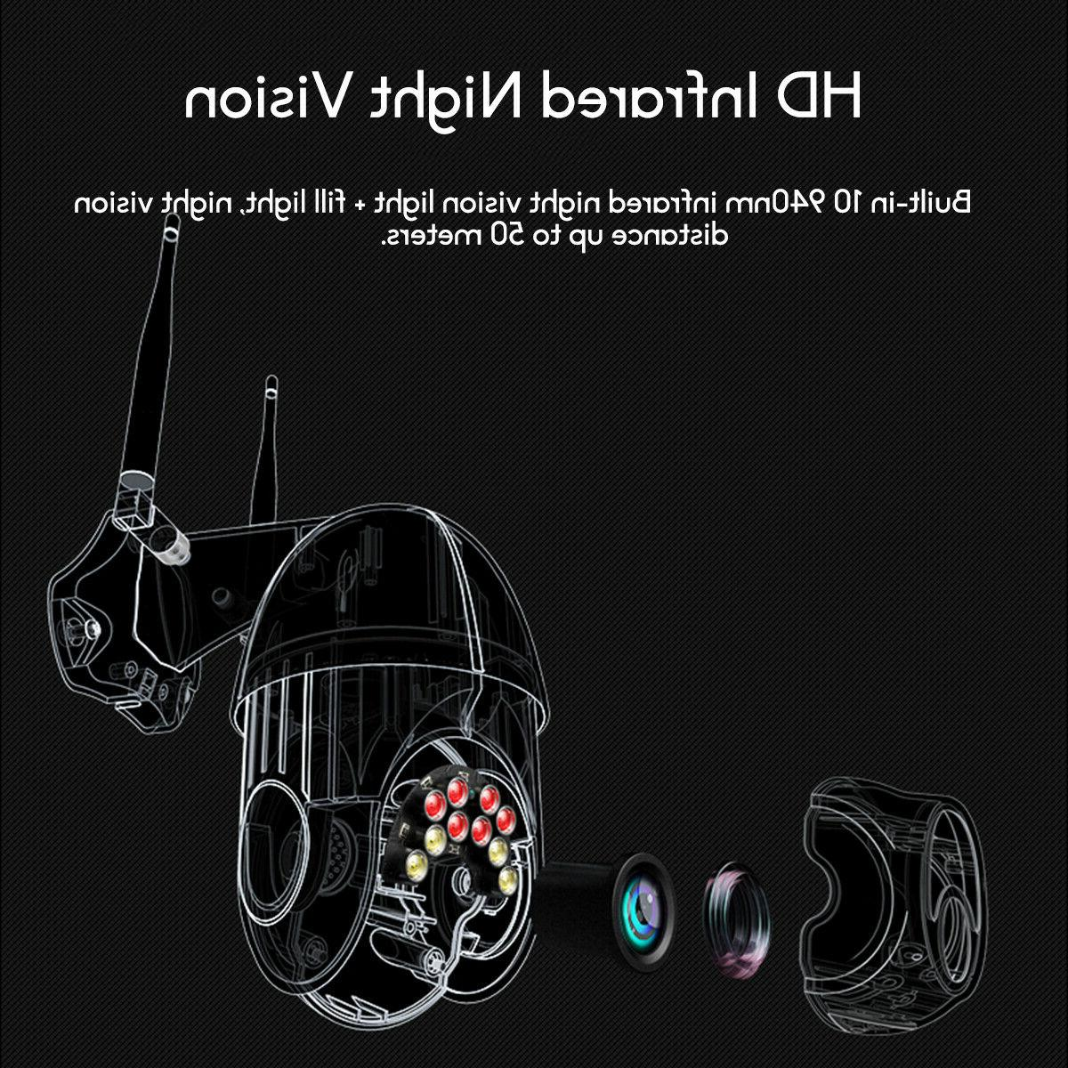 Wifi Outdoor Camera HD Two Way Motion