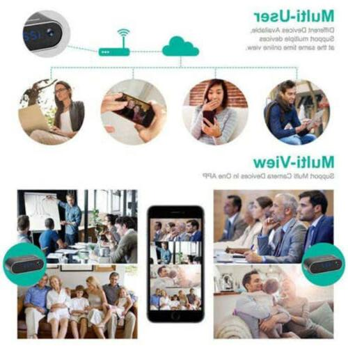 WiFi Clock NightVision Motion Home