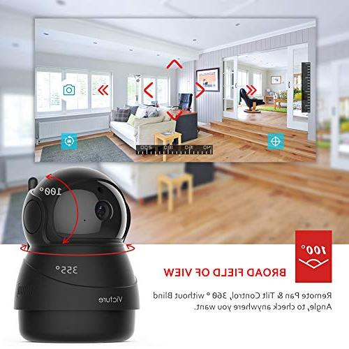Victure 1080P IP Camera Indoor Wireless Security Detection Monitor
