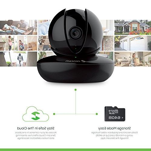 Zencam HD Indoor Zoom System with Vision, Two Talk, Motion Alerts, Remote Streaming, &