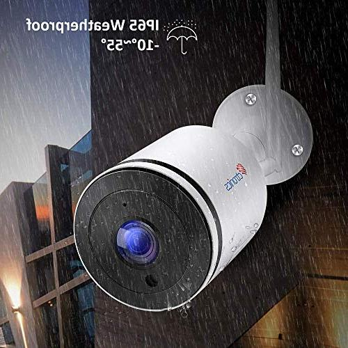 Wireless IP with Angle,Dome with Vision,IP65 Waterproof,Motion card Up 128GB