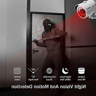 ANNKE WiFi Security Cameras System 4CH 960P NVR with