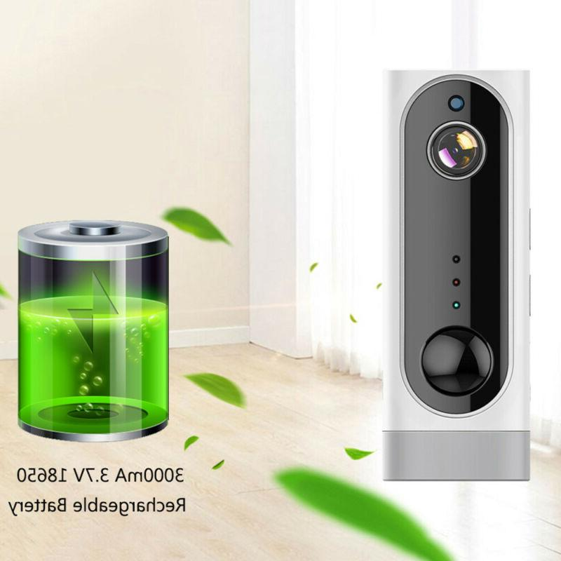 wire free wifi camera hd rechargeable battery