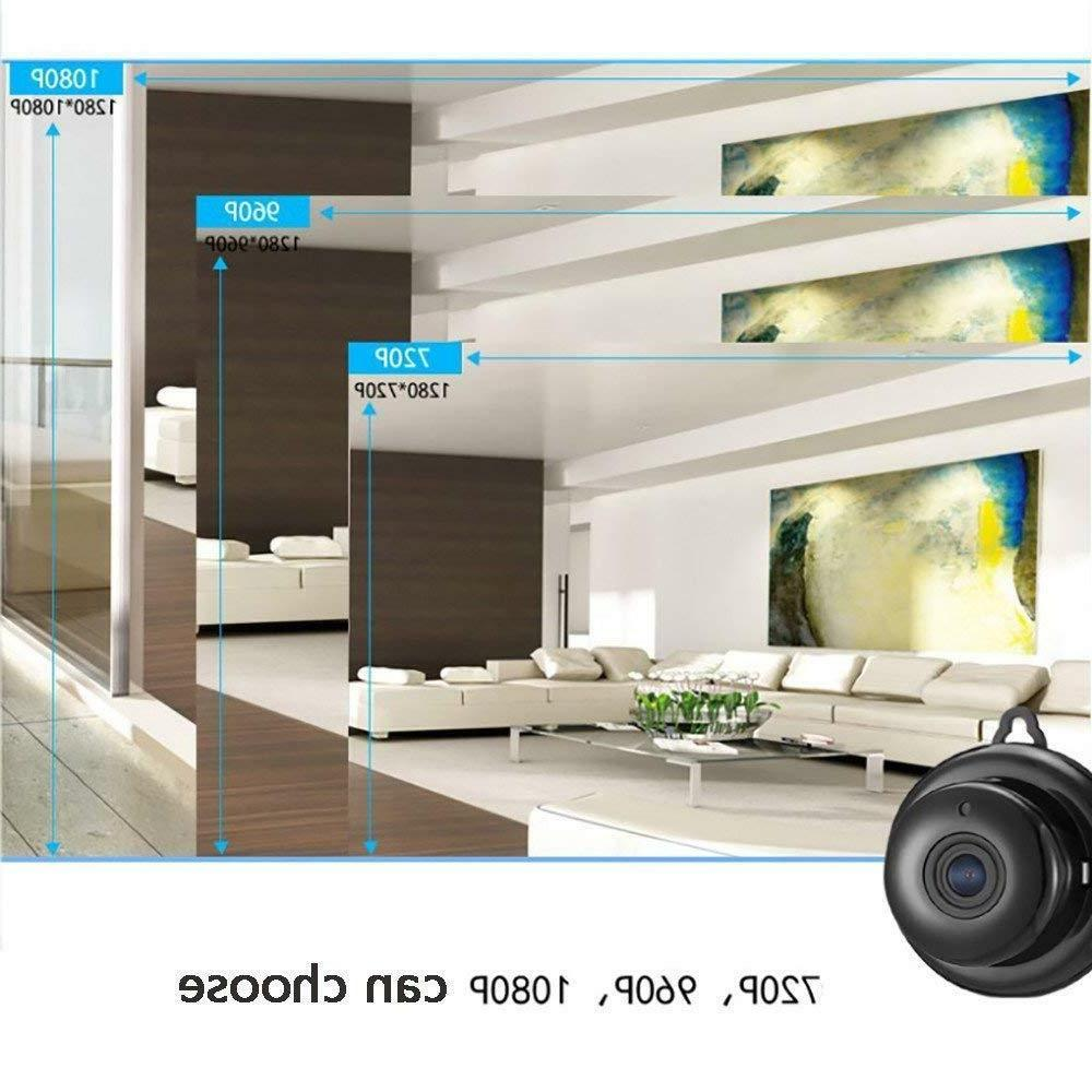 Wireless IP Camera HD Smart Home Security Camera Vision