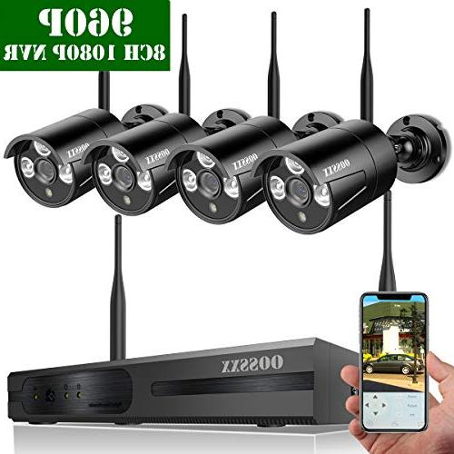 wireless network ip security system