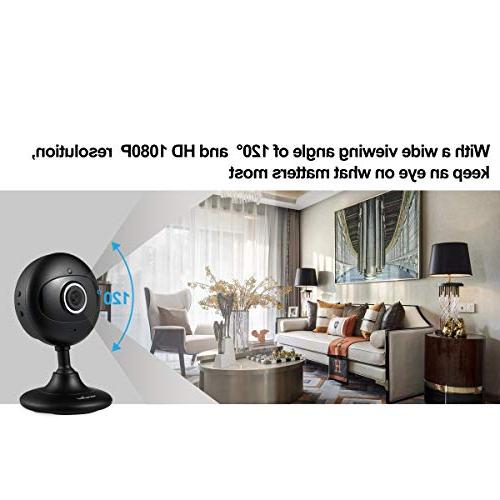 Wansview Home 1080P Wireless IP for Baby/Elder/Pet/Nanny Night and Audio-K3