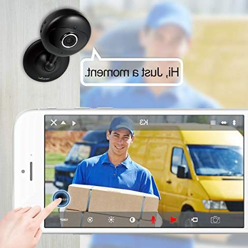 1080P Wireless WiFi IP Surveillance Indoor for with Night Vision Audio-K3