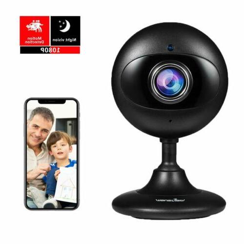 Wansview Home Security 1080P Wireless IP for Baby/Elder/Pet/Nanny Night and Audio-K3