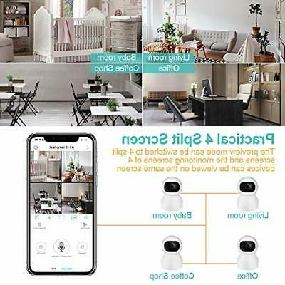 Wireless Security Cameras 1080P HD WiFi Camera, Home Indoor for Dog/N